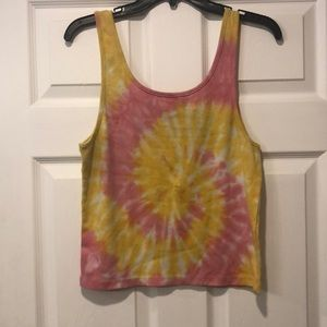 American Eagle Outfitters Tops - AE tie dye tank top.